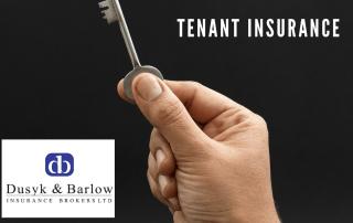Tenant holding a key