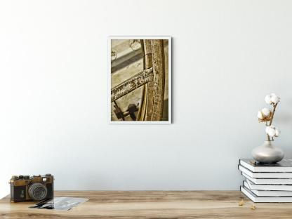 Treadwheel of a King's Prison Wall Art Picture. Style PT01. Sample wall art picture