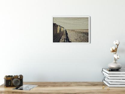 Gone to the Pub wall art picture. Style option PT05. Sample picture