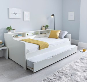 Tyler Guest Bed White