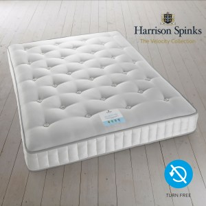 Harrison Spinks Velocity Mattress 5750 Turn Free Firm Comfort