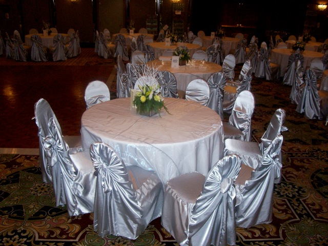 party decorations chair covers hanging pottery barn linen sas