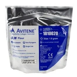 Avitene Microfibrillar Collagen Hemostat Flour 1gm