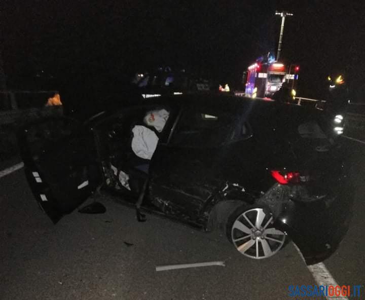 Violento incidente a Chilivani, coinvolte tre auto: tre i feriti gravi