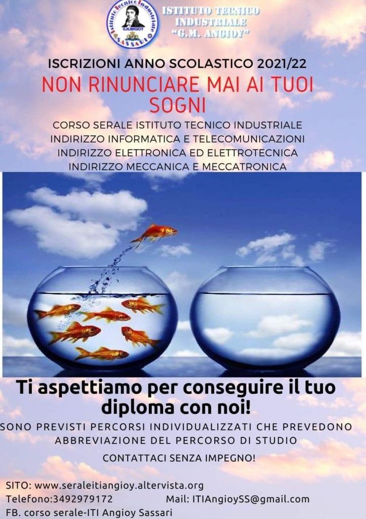 Al via le iscrizioni ai corsi per adulti nell'istituto Angioy di Sassari