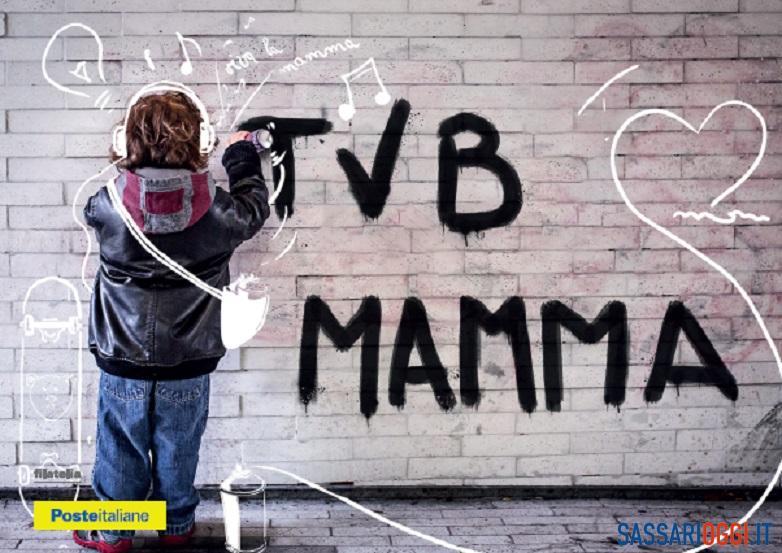 A Sassari due speciali cartoline dedicate alla Festa della Mamma