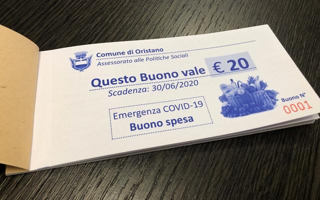 Buono spesa Oristano