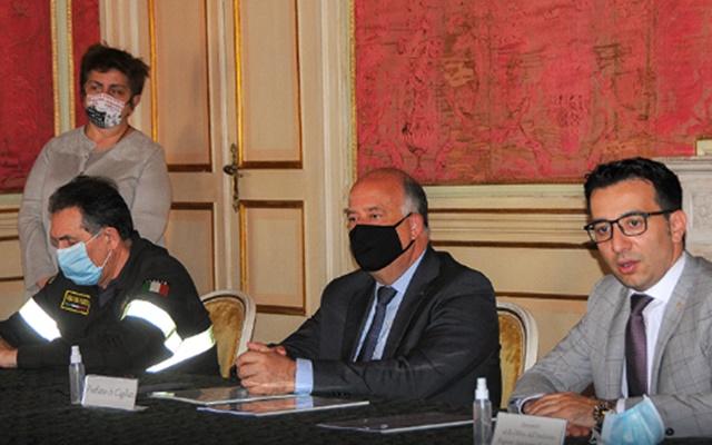 Convenzione Sardegna Vigili del Fuoco