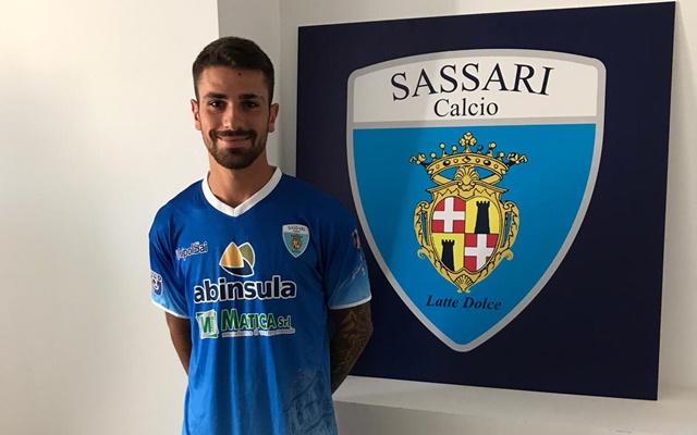Gianmarco Marcangeli Sassari calcio Latte Dolce