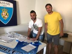 Michele Pisanu Sassari calcio Latte Dolce