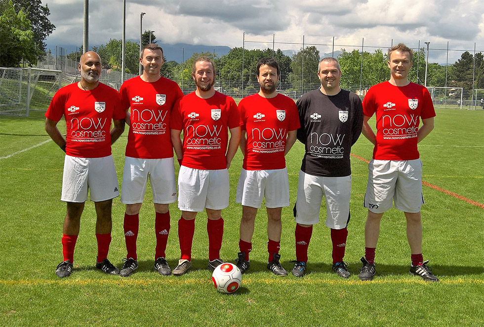 The team line up for the Geneva Tournament 2016
