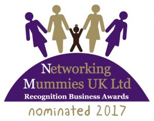 We are delighted to have been nominated for the 2017 Networking Mummies UK  - Recognition Business Awards