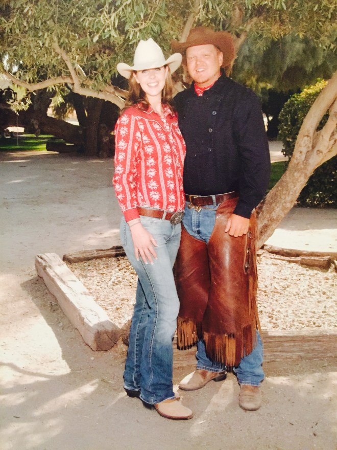 Arizona Guest Ranch Couple