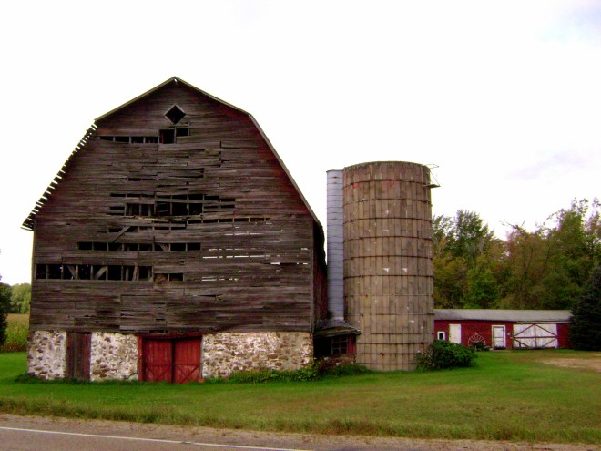 County P Wisconsin Barn