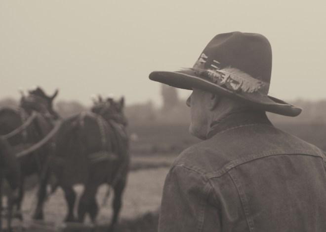Old Cowboy Sepia
