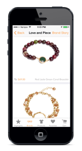 Orange-Harp-Mobile_app-Love-And-Piece-Jewellery-bracelets