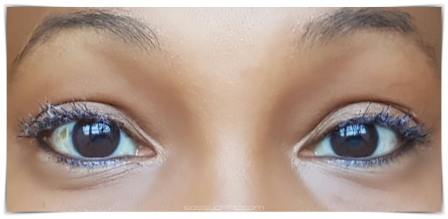 NYX Double Stacked Mascara product review - Step 2 lashes - sassycritic.com