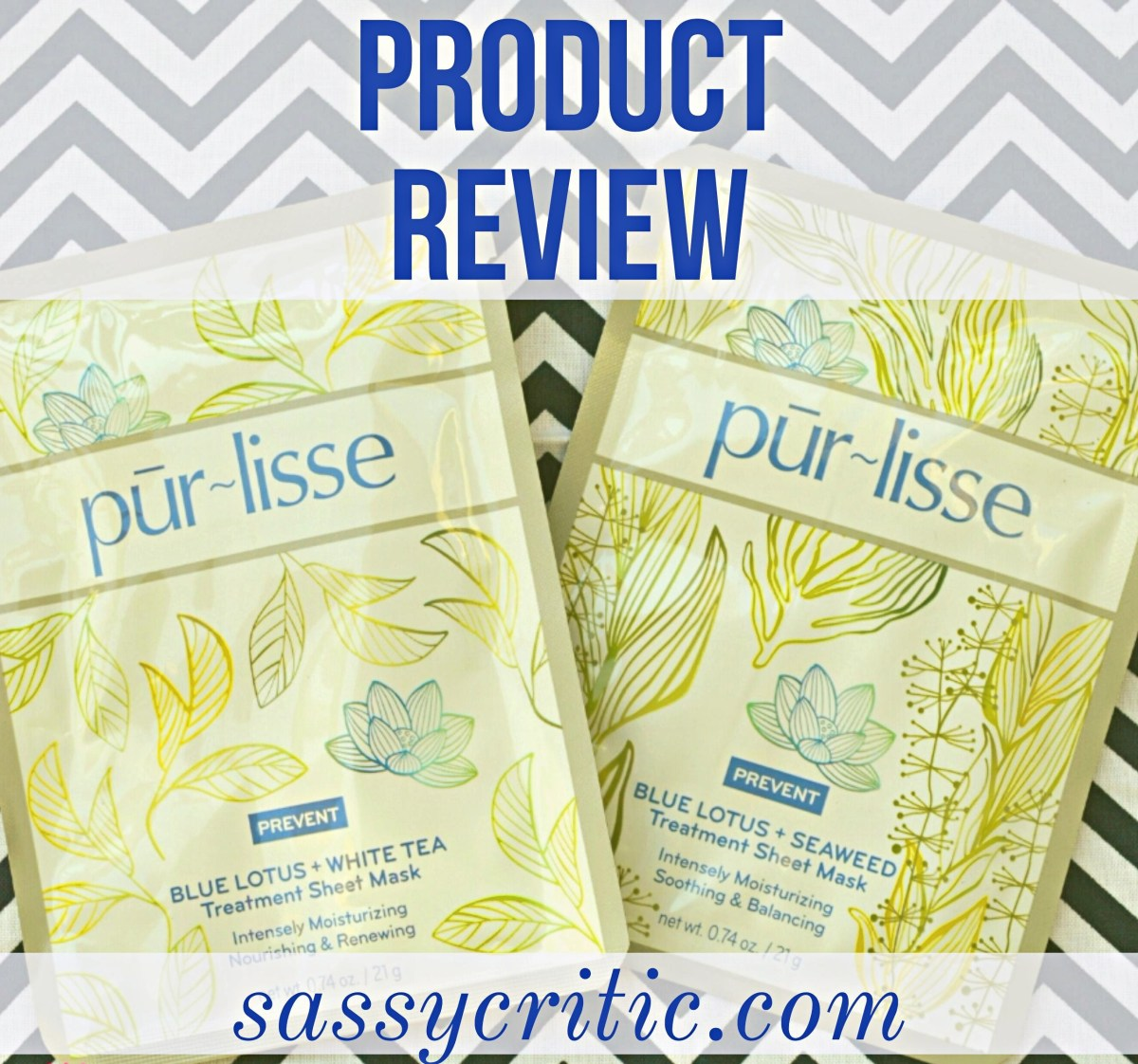 Product Review: Purlisse Facial Sheet Mask