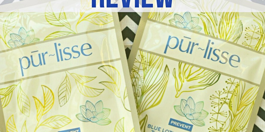Purlisse facial sheet mask product review - sassycritic.com