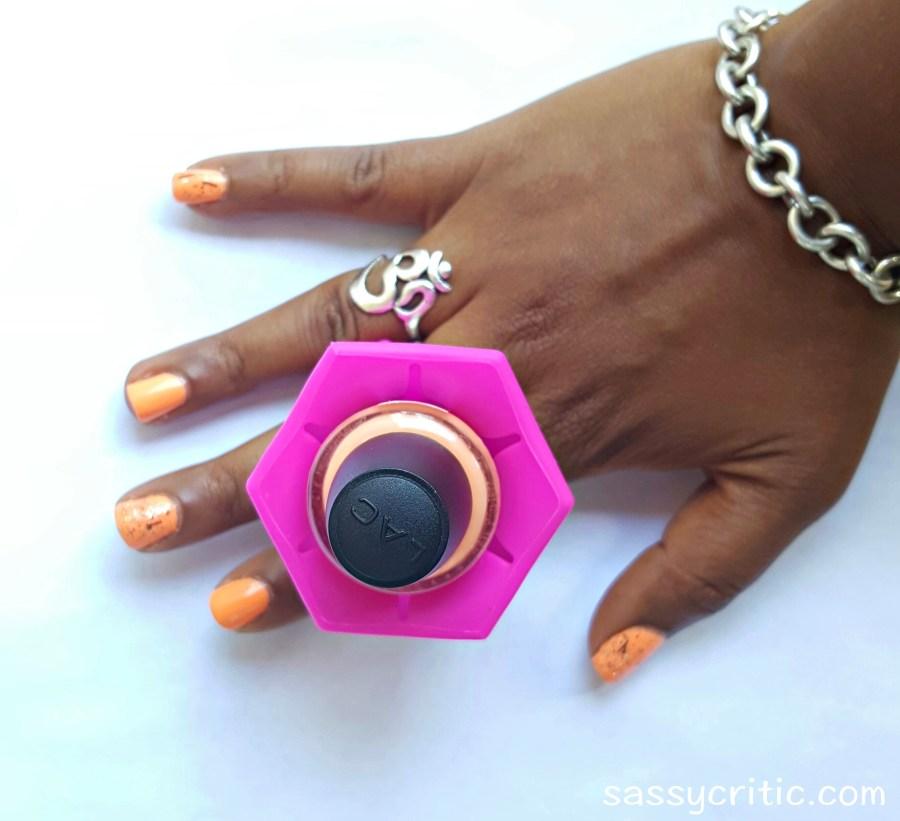 Nail polish holder ring product review - sassycritic.com