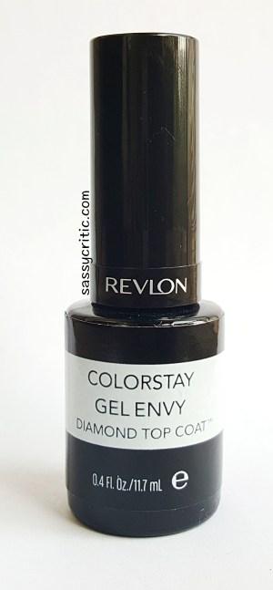 Sally Hansen vs Revlon top coat - sassycritic.com