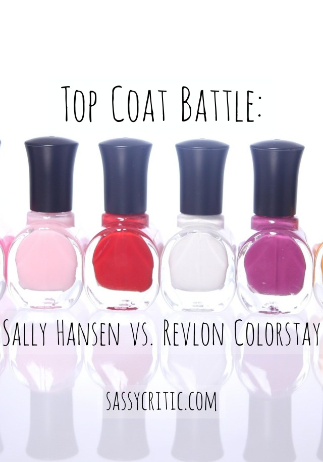 Sally Hansen vs Revlon top coat - Pinterest - sassycritic.com