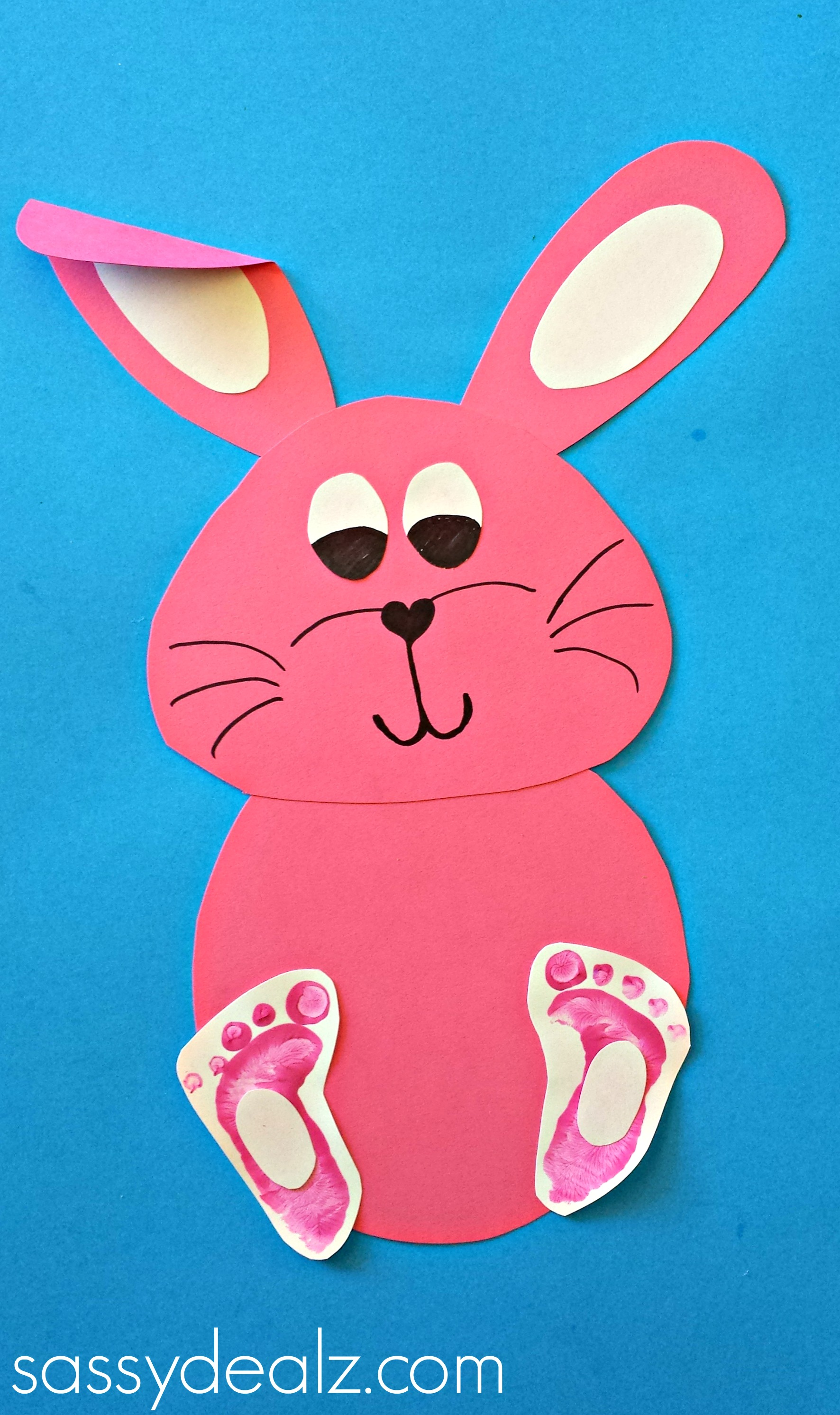 Easy Bunny Crafts For Kids