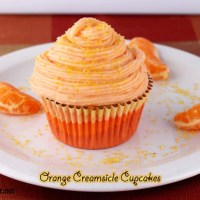 The Cupcake Project: Orange Creamsicle Homemade Cupcakes Recipe