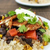 Baja Fish Taco Bowls - Easy Dinner Recipe