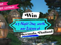 Win a 3 Night Stay at Keemala in Thailand - Sassy Hong Kong