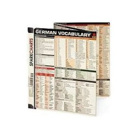 SparkCharts German Vocabulary