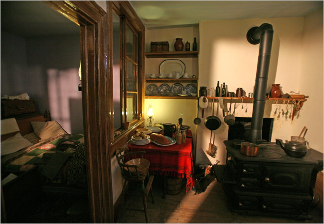 Visit to the Tenement Museum in Manhattan