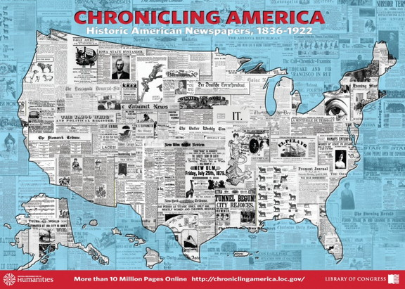 Latest Additions to Chronicling America Newspaper Database