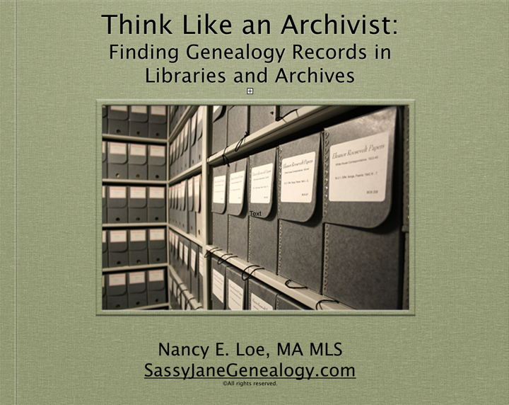 Think Like an Archivist on Saturday in San Diego
