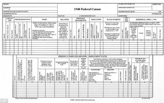 Questions on the 1940 Census