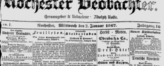 Google News Archive for German newspapers sassy jane genealogy