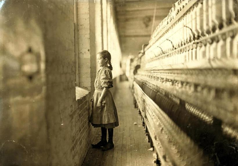 Lewis Hine Project's Child Laborers