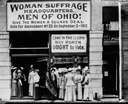 When Could Women Vote in Your Family