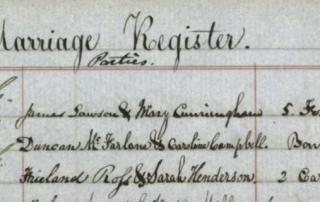 Scottish church records before 1855