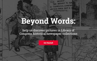 making historic newspapers searchable