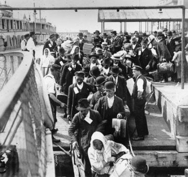 Immigrant Inspections at Ellis Island