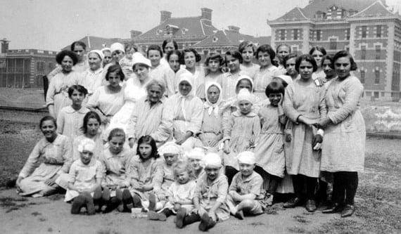 Immigrants Detained at Ellis Island