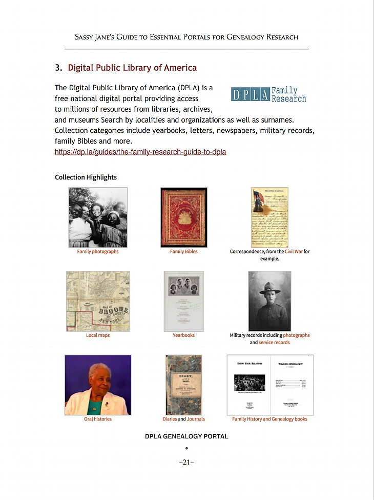 Essential Portals for Genealogy Research