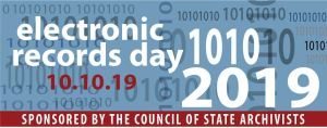 Archives Month 2019 Electronic Records Day