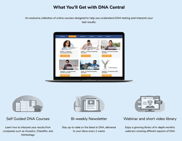 Find genealogy webinars