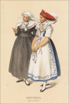 German Peasant Costume Prussia Spreewald