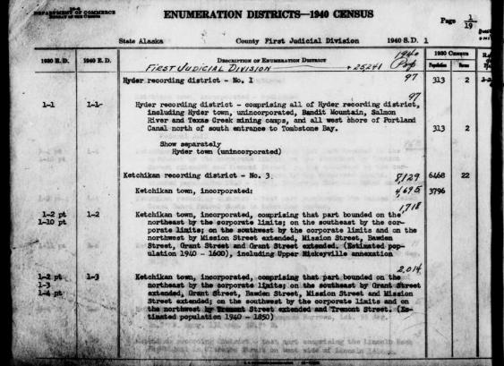 1940 Census Dataset Released