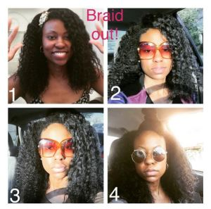 dry braid-out