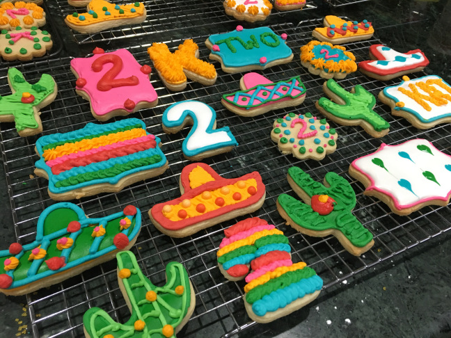 Birthday party treats yummy diy fiesta cookies sassy plum what do you do when youre planning a party and an item you need is unavailable its time to diy if you dont know diy stands for do it yourself solutioingenieria Image collections