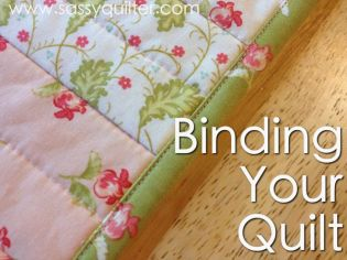Binding your quilt